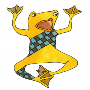 frog sticker fox larsson